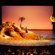 Ariadne Auf Naxos, directed by William Friedkin, 2002<br>foam cave and boulders<br>various dimensions<br>Photo courtesy of the Los Angeles Opera<br>Los Angeles Opera